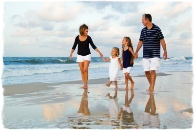 family professional beach portrait photography