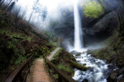 Winter Falls - Latourell Creek, OR