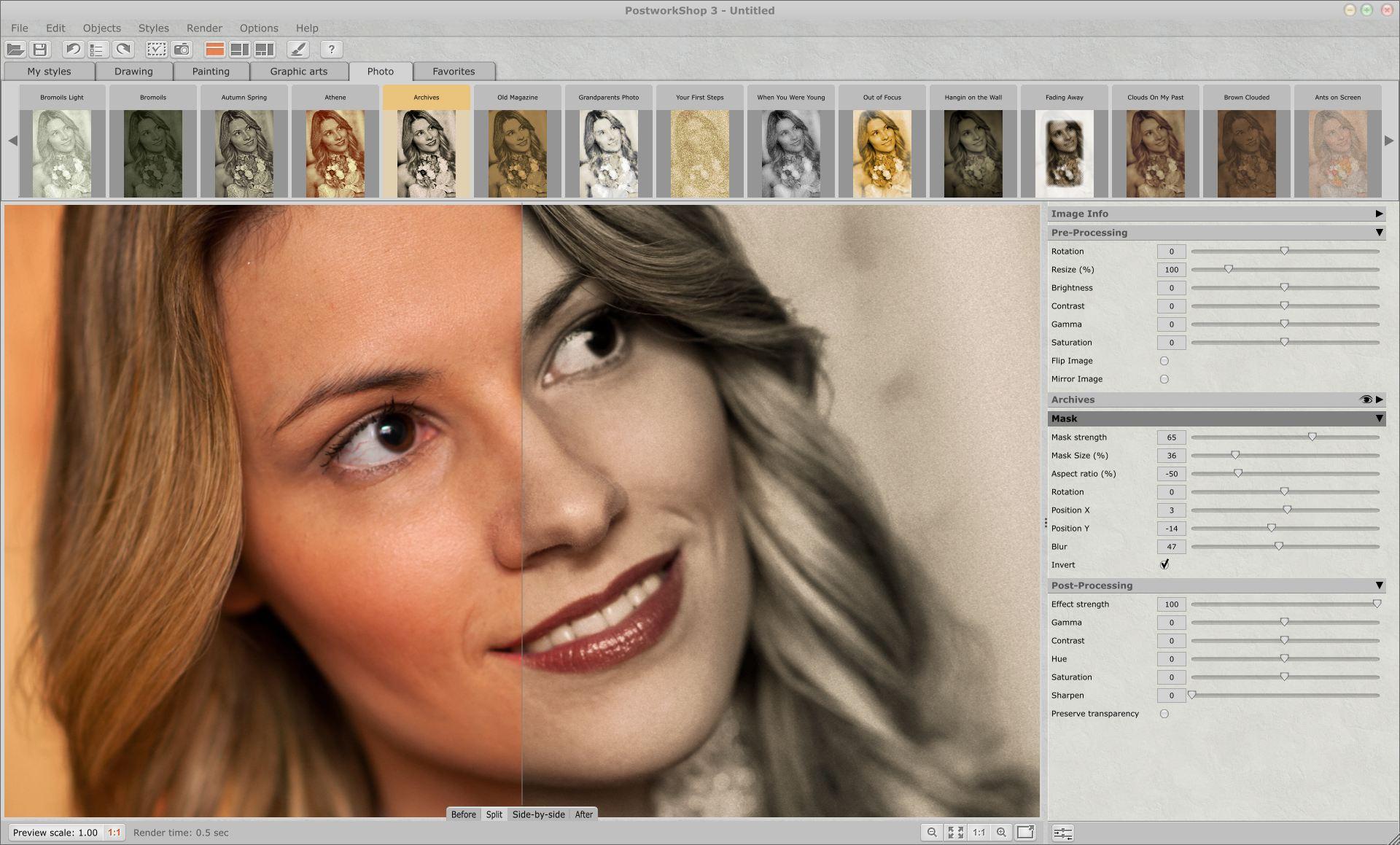 Как с помощью фотошопа сделать из фотографии рисунок
