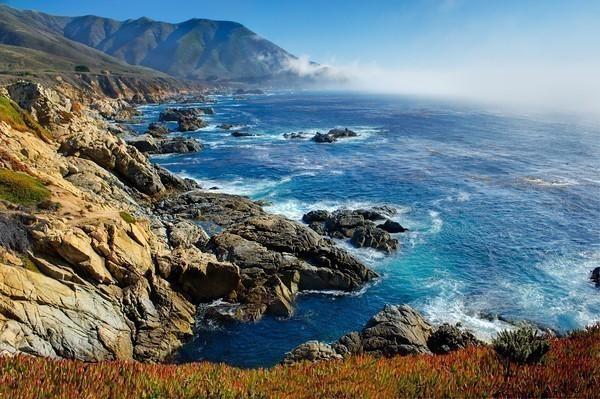 Beautiful Northern California Drop Top: Фотографируем береговую линию
