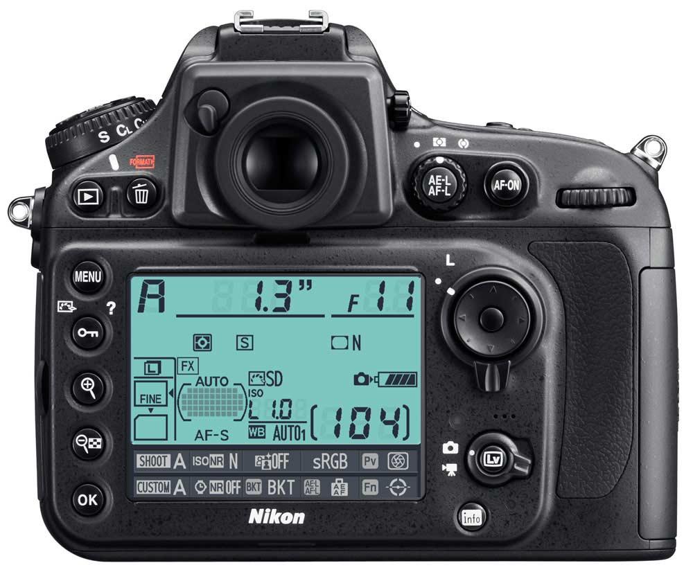 Nikon d как снять видео