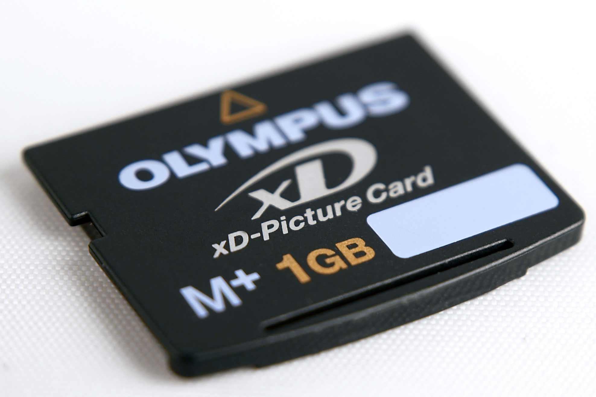 карта памяти olympus xd: