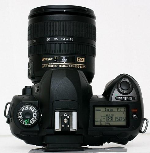 Nikon D70s — ... D70 Nikon