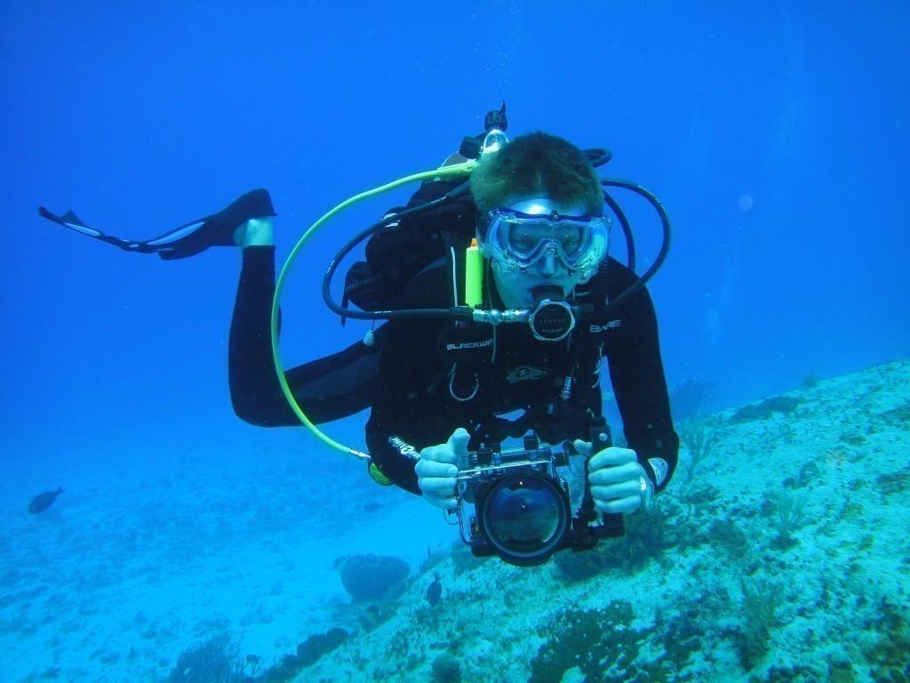 Контейнер для подводной фотосъемки