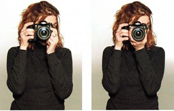 Как правильно держать зеркальную камеру