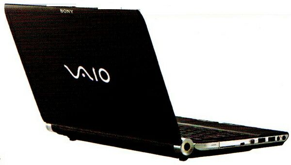 Ноутбук Sony на платформе Windows