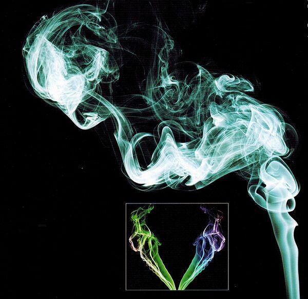 Как фотографировать натюрморты с дымом