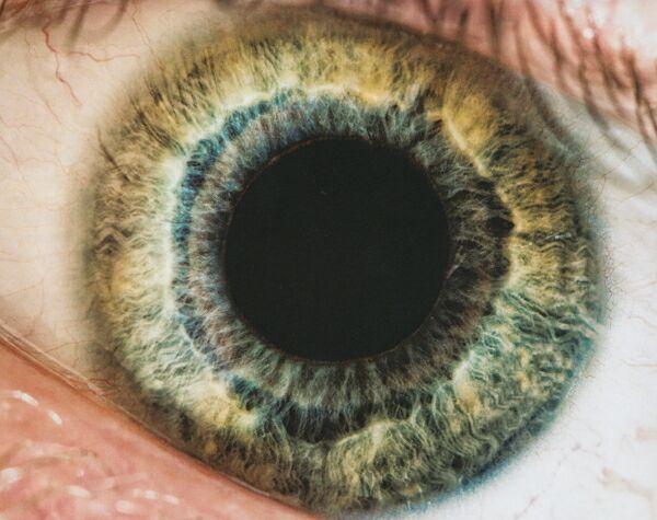 Макросъемка глаза