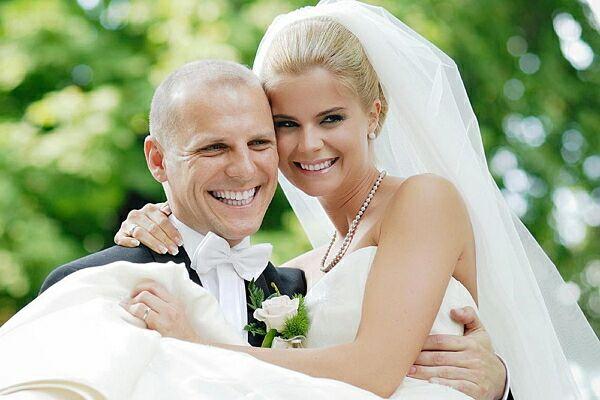 Съемка свадебного портрета