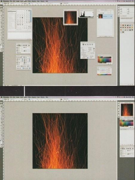 Настройка рабочего пространства в программе Photoshop