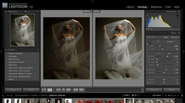 Программа Adobe Lightroom