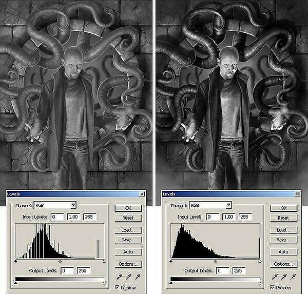Света и тени в Photoshop