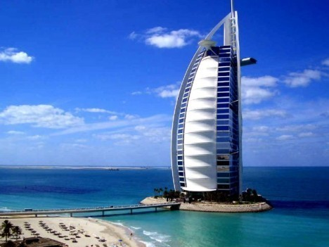 United Arab Emirates-Burj Al Arab tourism destinations