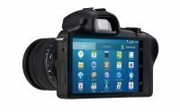 Galaxy NX - первая системная фотокамера с LTE и Android
