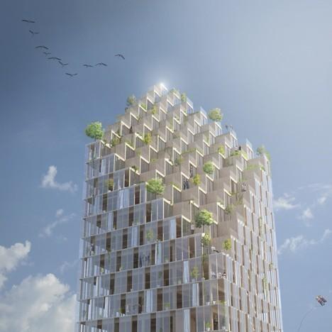 Wooden-Skyscraper