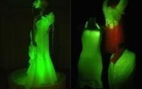 В Японии был придуман светящийся шелк