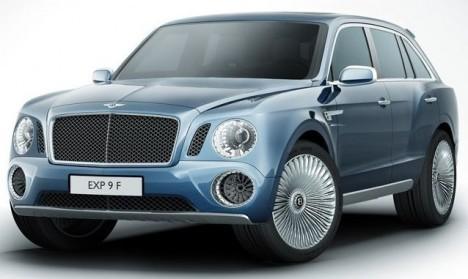 New-Bentley-4x4