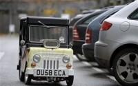 Wind Up - самый маленький автомобиль в мире