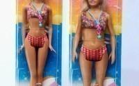 Создана новая кукла Барби с человеческими пропорциями