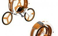 Складной велосипед Donut от Arvind Mahabaleshwara