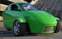 Разработан сверхсовременный трёхколесный автомобиль