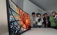 Компания Samsung выпустит вогнутый телевизор