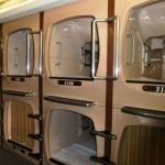 Японский отель предлагает проживание в одноместных капсулах