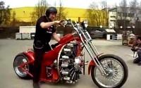 Red Baron - мотоцикл с авиационным двигателем