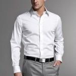 Стильная и красивая мужская рубашка