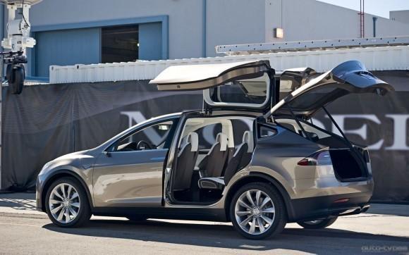 2013 Tesla Model X open