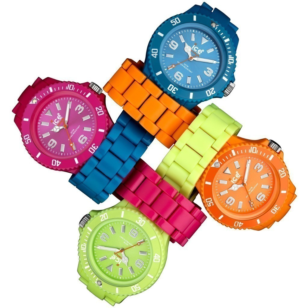 Женские модные силиконовые часы Ice Link