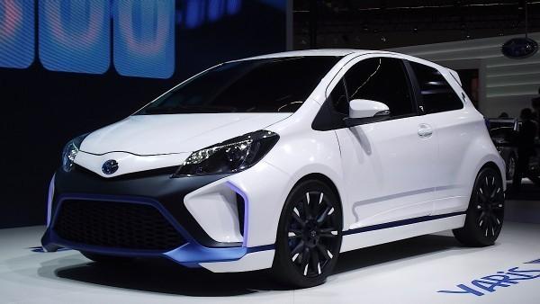 Хэтчбек Toyota Yaris Hybrid-R Concept