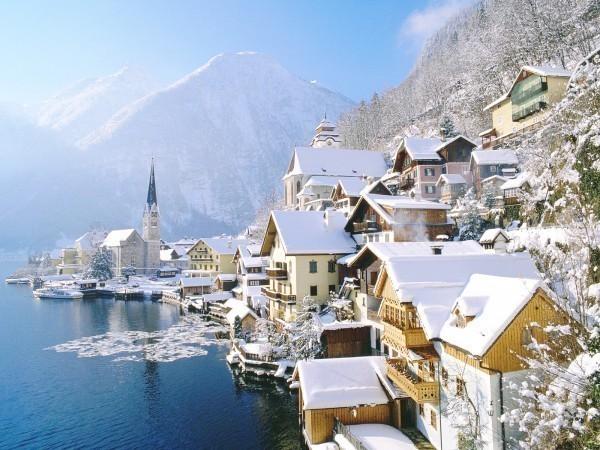 австрия-зимой