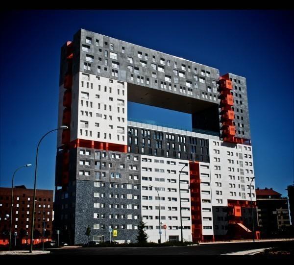Edificio Mirador (дом панорама, Мадрид)