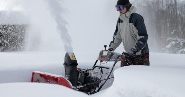 Снегоуборочная машина для частных домов