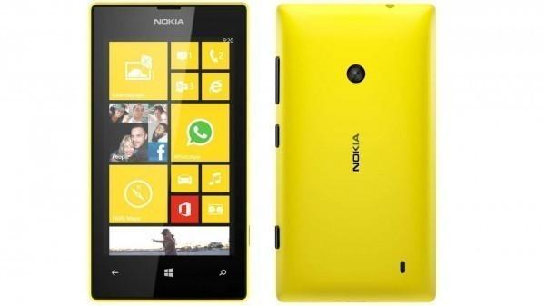 1Nokia Lumia 520