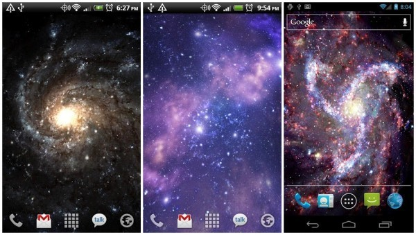 Galactic Core Free Live Wallpaper