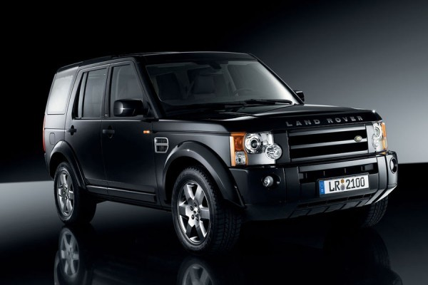 Land Rover Discovery 4-black