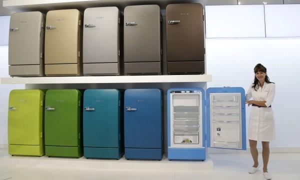 Bosch ретро холодильники