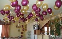Интересные идеи для украшения помещения воздушными шарами
