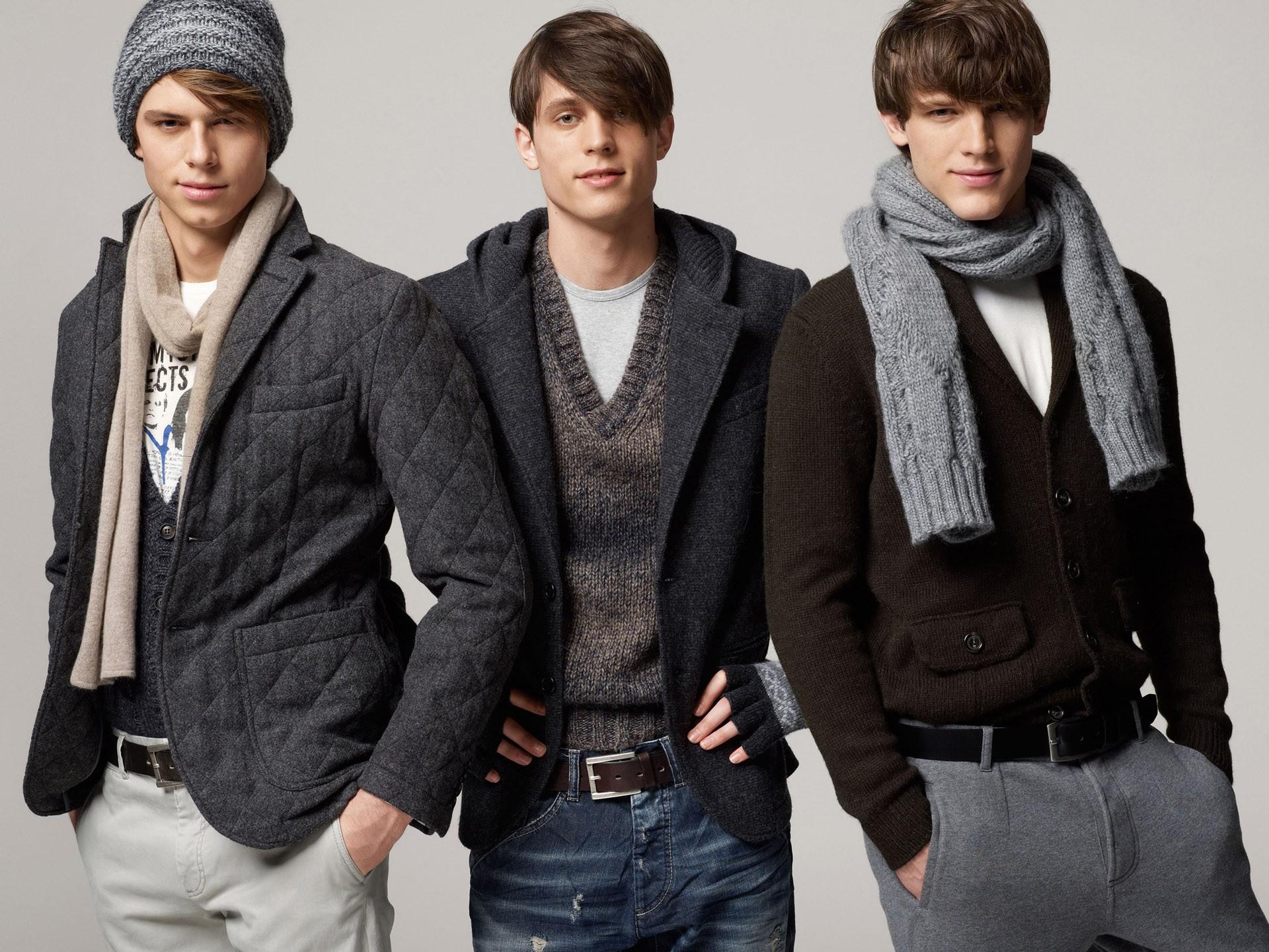 Мужская мода этой зимой