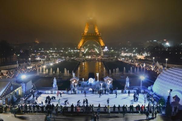 париж-зима