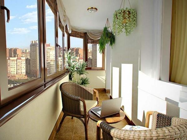 остекление балконо