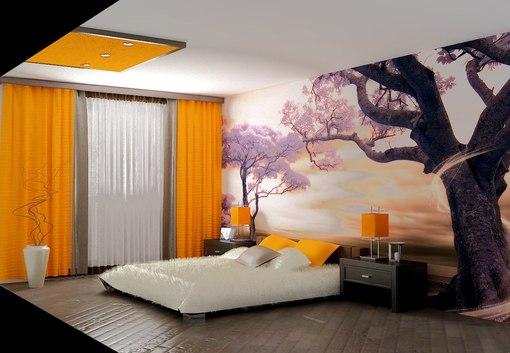 спальня-декор
