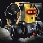 Twizy Renault Sport F1 - такого просто не бывает!