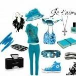 Голубая мечта: кусочек неба в твоем гардеробе!