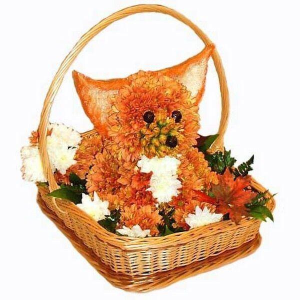 заказать девушке цветы