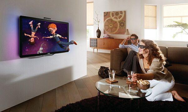 Современные телевизоры с 3D