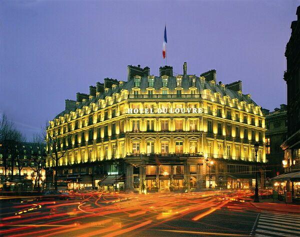 отели в центре парижа