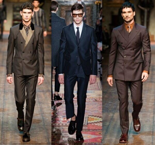 Мужская мода 2014-2015